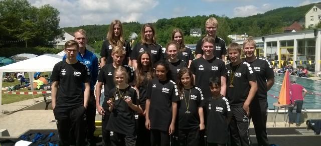 40. Jahrgangsschwimmfest in Altena