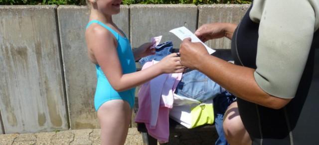 Schwimmkurs in den Sommerferien