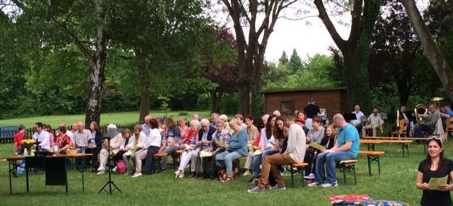 Gottesdienst im Heidebad mit KU-3-Kindern