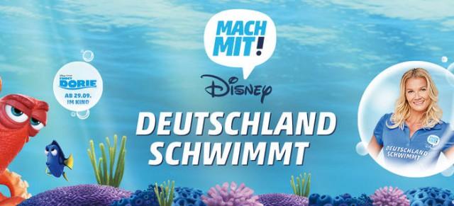 """Aktionstag """" Deutschland schwimmt """" am 24. September 2016"""