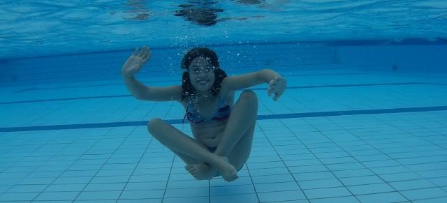 Unterwasser-Fotoshooting